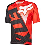 Fox Racing Livewire Short-Sleeve Jersey - Men's Red/Black, M