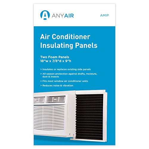 (AnyAir Window Air Conditioner Season Protection-Pack of 2 Foam Insulating)