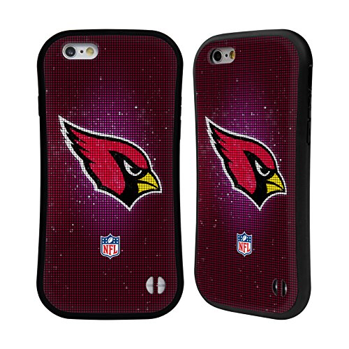Official NFL LED 2017/18 Arizona Cardinals Hybrid Case for iPhone 6 / iPhone ()