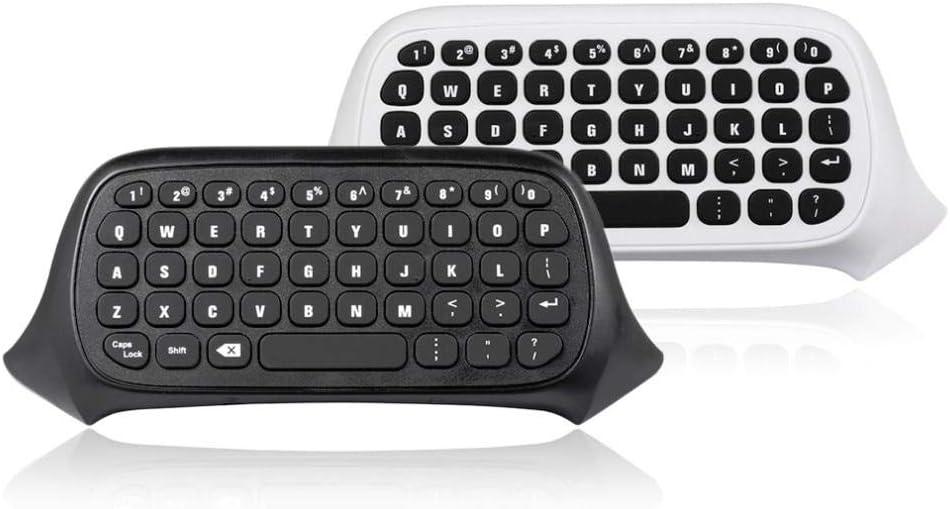 White//United States Islandgizmo Practical Mini Handheld Keyboard Message for Dropshipping