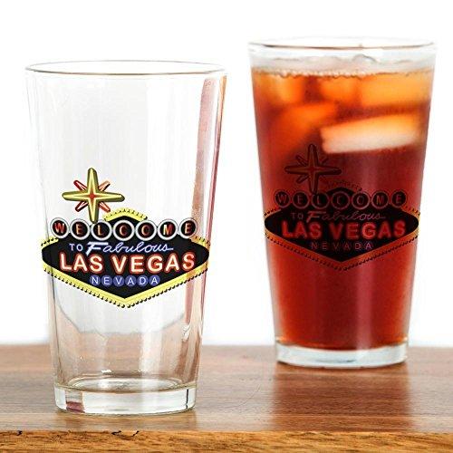 - CafePress Fabulous Las Vegas Pint Glass, 16 oz. Drinking Glass