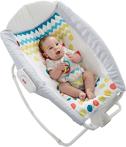 Fisher-Price Colorful Carnival Rock 'n Play Sleeper