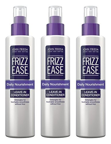 John Frieda Frizz-Ease Daily Nourishment Leave-In 8 Ounce (235ml) (3 Pack) (Best Nourishment For Hair)