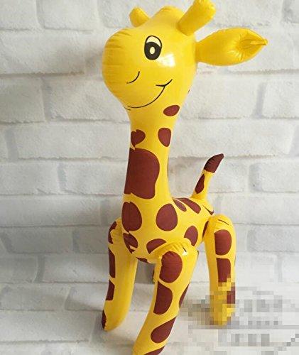 Eever Design Parfait juguete inflable de jirafa de juguete de ...