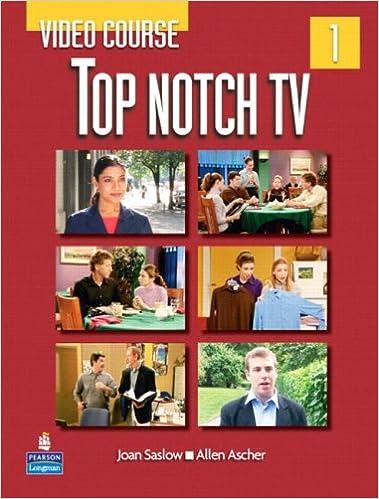 681f428618f Top Notch TV 1 Video Course: Joan M. Saslow, Allen Ascher ...