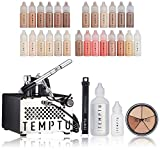 Temptu S-One Deluxe Aibrush Kit: Airbrush Makeup Set for Professionals