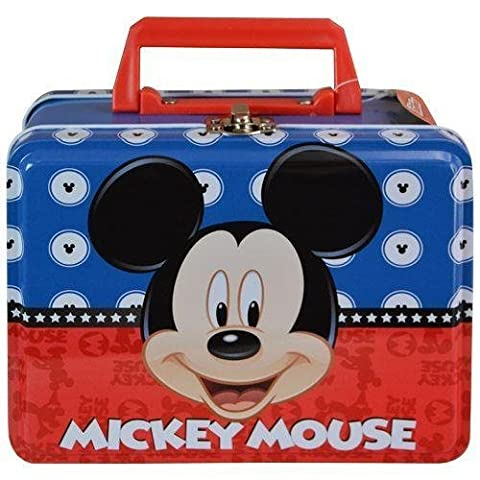 Mickey Mouse Large Tin Box (New York Rangers Wireless Mouse)