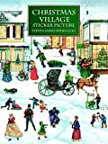 Christmas Village Sticker Picture, Steven James Petruccio, 0486402487