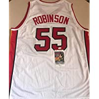 $98 » DUNCAN ROBINSON MIAMI HEAT WHITE SIGNED AUTOGRAPHED XL JERSEY JSA