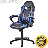 COLIBROX--Executive Race Car Style Chair High Back Bucket Seat Gaming Office Computer New. high back race car style bucket seat office desk chair gaming chair. bucket seat office chair.