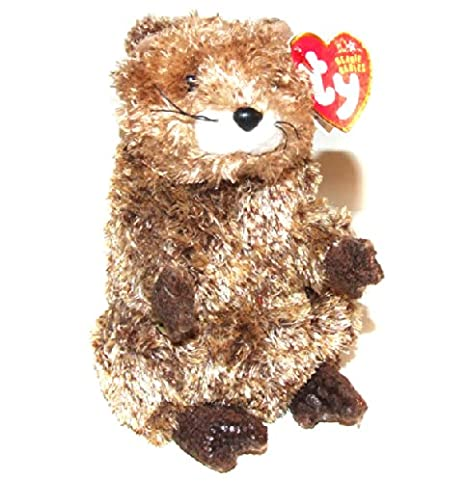 Amazon.com  Punxsutawn-e Phil 2002 Ty Groundhog Day Beanie Baby -  Punxsutawney 2b85bd9c44f7