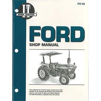 Amazon.com: SMFO43 FO-43 FO43 New Fits Ford Tractor Shop Manual 2810 2910  3910: Industrial & ScientificAmazon.com