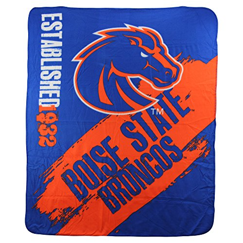 The Northwest Company NCAA Collegiate School Logo Fleece Blanket (Boise State Broncos) Michigan State Fleece Blanket