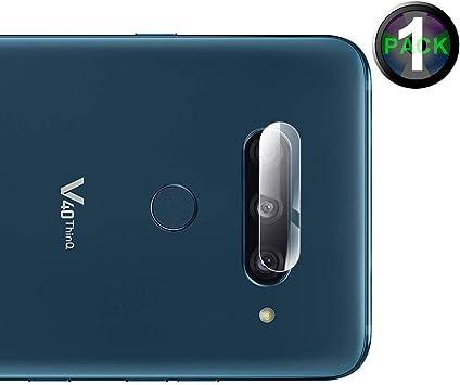 Cámara Trasera Lente Pantalla para LG V40 ThinQ, Protector de Pantalla Cámara Cristal Vidrio Templado Premium-1 Pack: Amazon.es: Electrónica