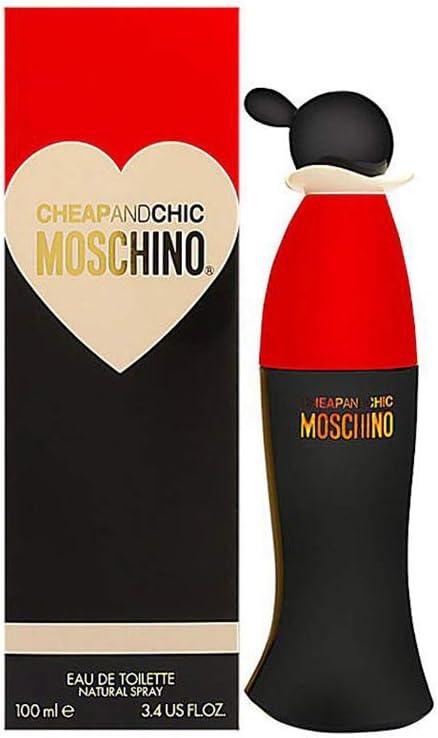 Moschino Cheap & Chic - Agua de tocador vaporizador para mujer, 100 ml