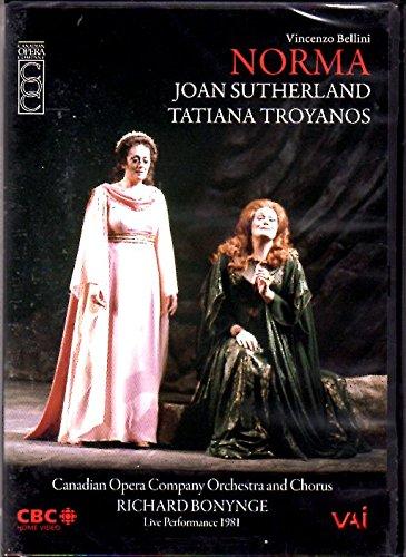 Bellini – Norma / Bonynge, Sutherland, Troyanos, Canadian Opera Company