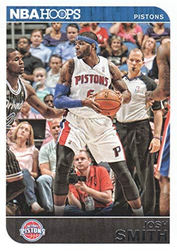 (2014-15 NBA Hoops Basketball #77 Josh Smith Detroit Pistons)