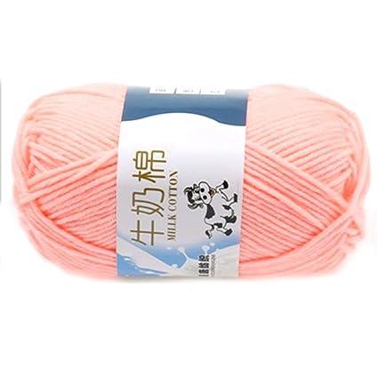Amazoncom Milk Cotton 1pc Crochet Yarn Milk Cotton Soft Warm