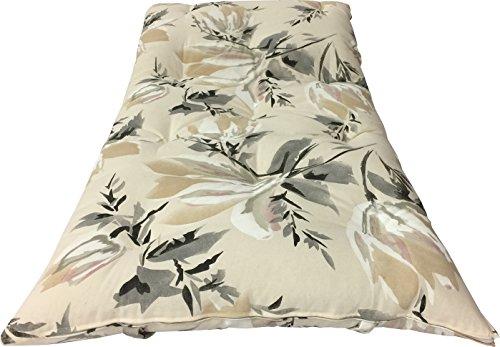 Deco Traditional Japanese Floor Rolling Futon Mattresses, Yoga Meditation Mats (Twin Size, Full Size, Queen Size, Chair Size). (Queen Size 3 x 60 x 80, Harmony Gold)