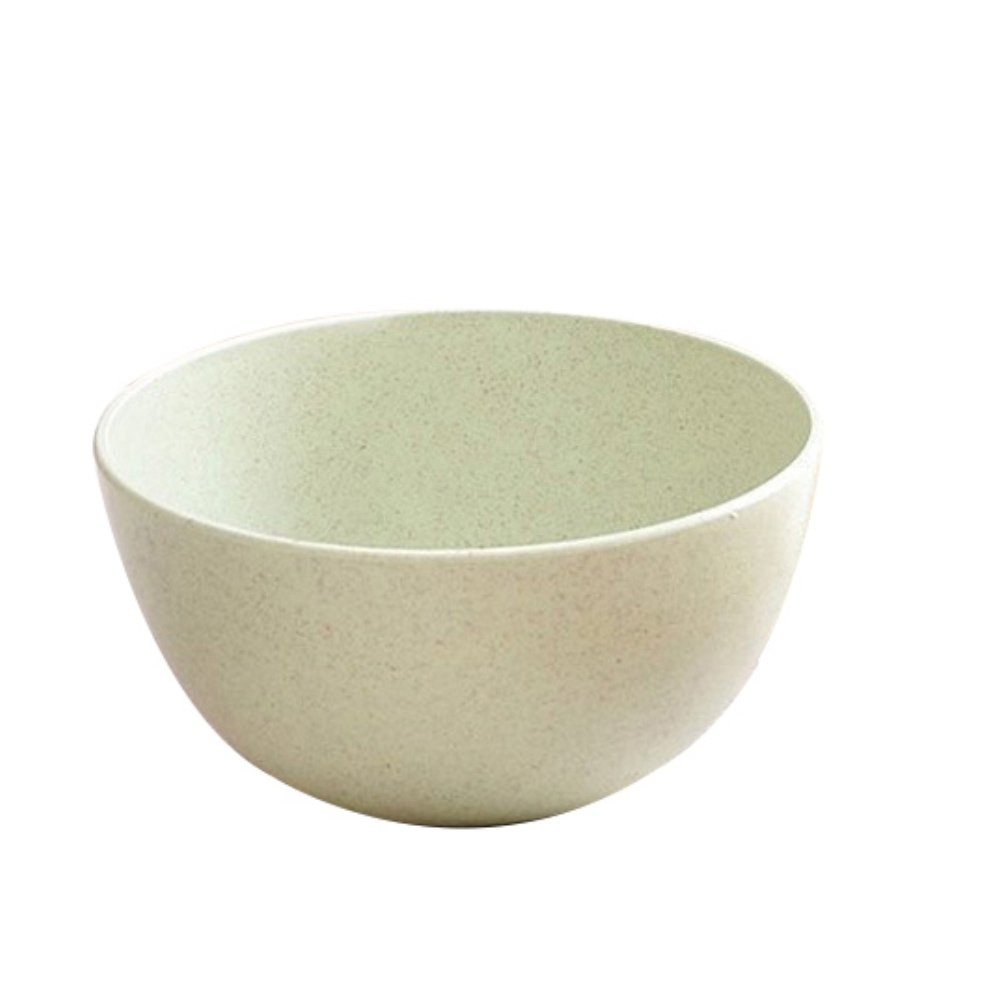 BrawljRORty Bowl, Eco-friendly Wheat Straw Children Rice Noodle Salad Bowl Household Tableware