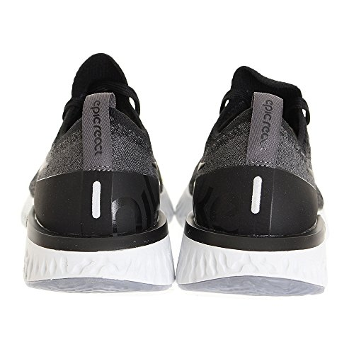 React pure Femme WMNS Black Chaussures dark Flyknit Platinum de Grey Running 001 Epic Black Nike Multicolore Compétition 6Exnw11