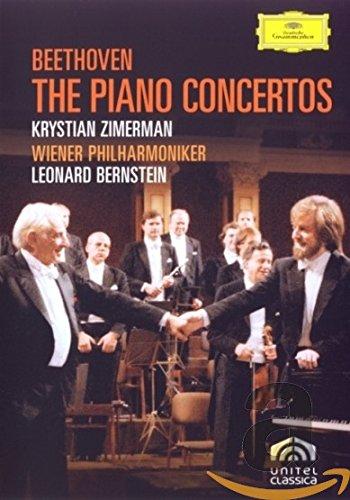 Bernstein Dvd - Beethoven: The Piano Concertos [DVD Video]