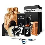 Beard Care Grooming Kit for Men – Includes Conditioner Oil, Beard Balm Butter