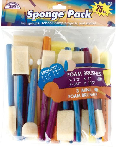 Sponge Pack - 25 Ct Computers, Electronics, Office Supplies, Computing