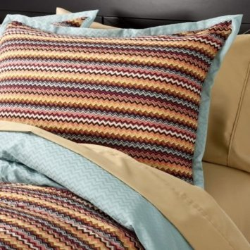 Missoni for Target Chevron Duvet and Sham set Queen (Missoni Designer)