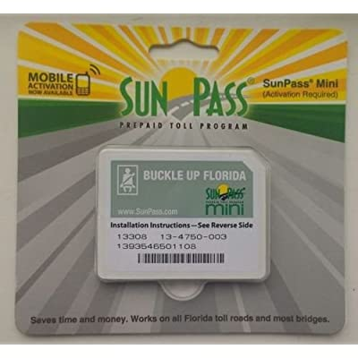 SunPass Mini Sticker Pre-Paid Toll Program For Florida: Car Electronics