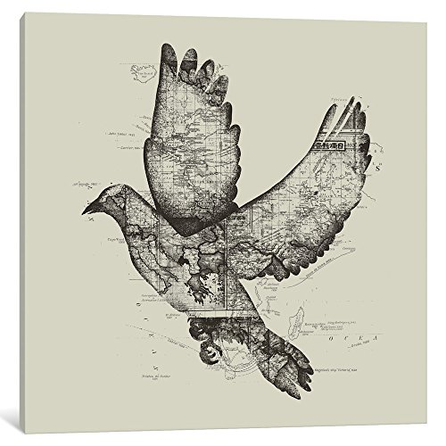 """iCanvasART iCanvas Wanderlust Gallery Wrapped Canvas Art Print by Tobias Fonseca 12"""" x 12"""" from iCanvasART"""
