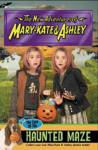 The Case Of The Haunted Maze (New Adventures of Mary-Kate and Ashley #43) -