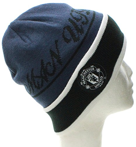 manchester-united-winter-beanie-soccer-futbol-knit-hat-cap-one-size-cuff-blue-black