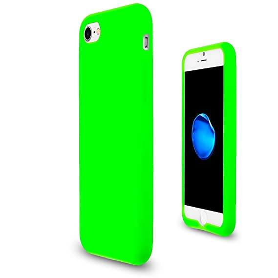 27b828e43 Image Unavailable. Image not available for. Color: JNSupplier For Apple  iPhone 7/8 Soft Silicone Rubber Case Flexible Matte Skin Jelly Cover