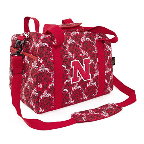 Eagles Wings NCAA Nebraska Cornhuskers Women's Mini Duffle Bag, One Size, Multicolor