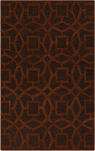 - Surya Dream DST-1172 Hand Tufted 100-Percent New Zealand Wool Geometric Area Rug, 9-Feet by 13-Feet