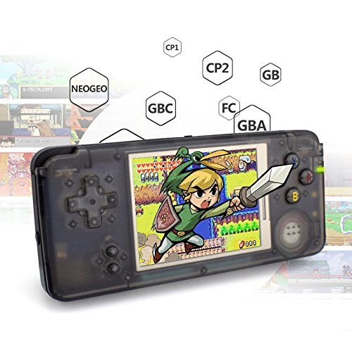 Aoile Handheld Game Console,Portable Video Game Console 3.1 Inch Screen 818 Classic Games by Aoile