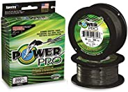 Power Pro Braided Line Downrigger Cable, Moss Green