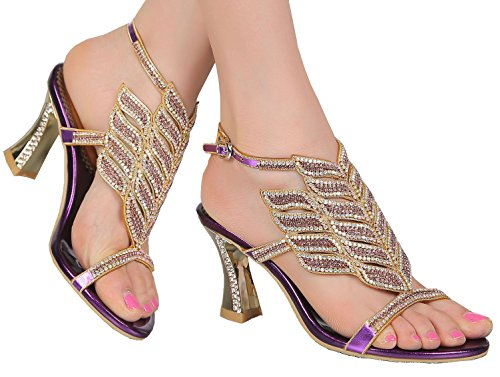 Wedding Sandals Shoes Toe Leisure L006 Work Open Performance Glaring Eu Bride Beautiful Heel Gold Rhinestone Dress Chunky Mid Roman Party Womens Job 35 Pretty Comfort Bridemaid zzq86w
