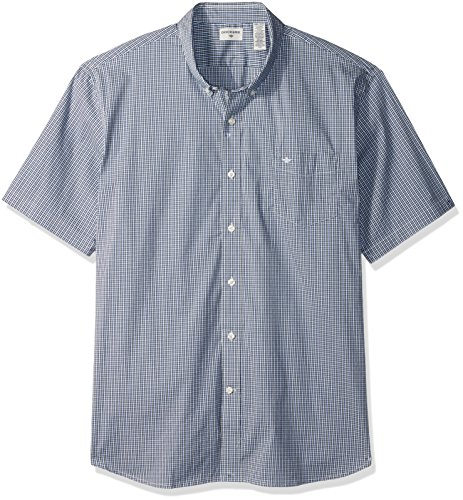 Dockers men 39 s comfort stretch soft no wrinkle short sleeve for Dockers wrinkle free shirts