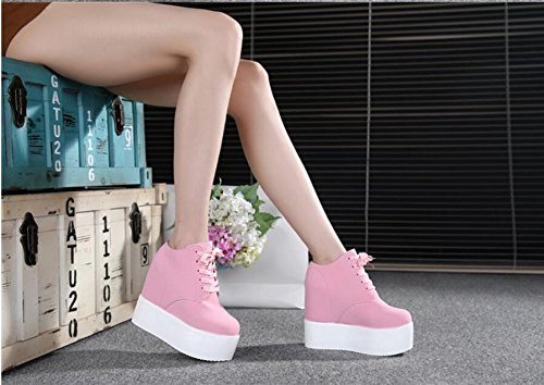 Strap Wild Pink Shoes Cake Single HGTYU Like 36 12Cm An Additional Thick Shoes New Ultra Waterproof Sponge UFxdw6q