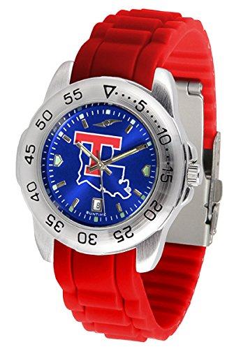 Bulldogs Watch Louisiana Sport Tech (Louisiana Tech Bulldogs Sport Silicone Men's Watch)