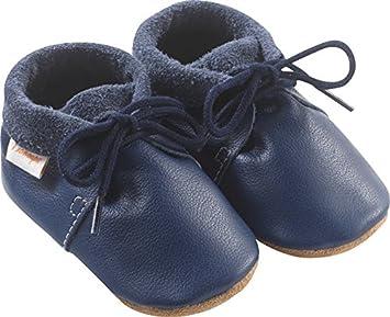 Chaussures Tichoups Tilou Bébé Cuir Marine Souple 1617 zMpLVUSqG