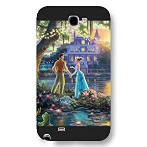 Customized Black Frosted Disney Cartoon Princess And The Frog HTC One M8