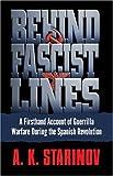 Behind Fascist Lines, Anna Starinov, 0345482247