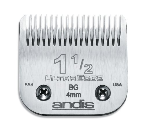 Andis Carbon-Infused Steel UltraEdge Clipper Blade, Size-1-1/2, 5/32-Inch Cut Length (Ultraedge Blades)