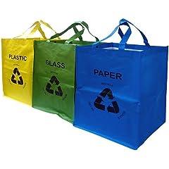 Cubos para usar con bolsas de la compra