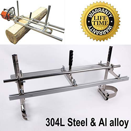 Chainsaw Mill portable chainsaw mill chainsaw sawmill Aluminum 304 Steel