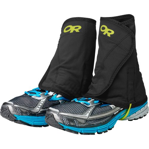 Outdoor Research Men's Wrapid Gaiters, Black/Lemongrass,...