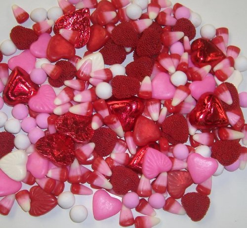 Scott's Cakes Valentine's Day Deluxe Candy Mix in a 1 Pound White Bakery Box